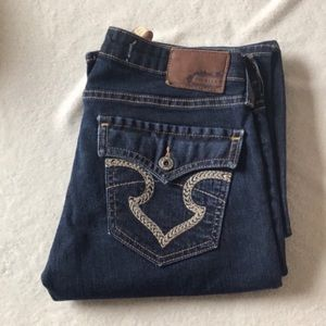 Big Star Remy low rise size 26 with a 34 inseam